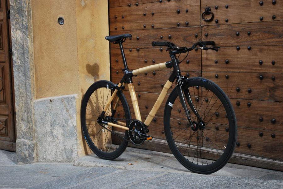 bambusowy rower