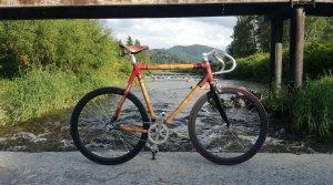 projekty rower na moście