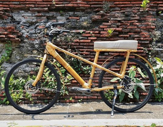 Najdziwniejsze rowery z bambusa na Filipinach
