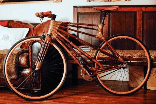 Najdziwniejsze rowery z bambusa dla artystów