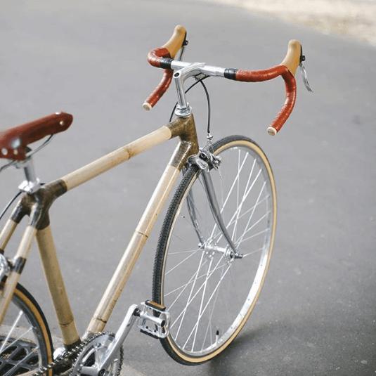 Najdziwniejsze rowery z bambusa elegancja