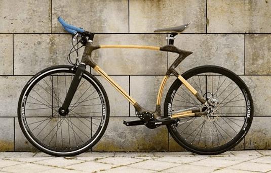 Najdziwniejsze rowery z bambusa design i minimalizm