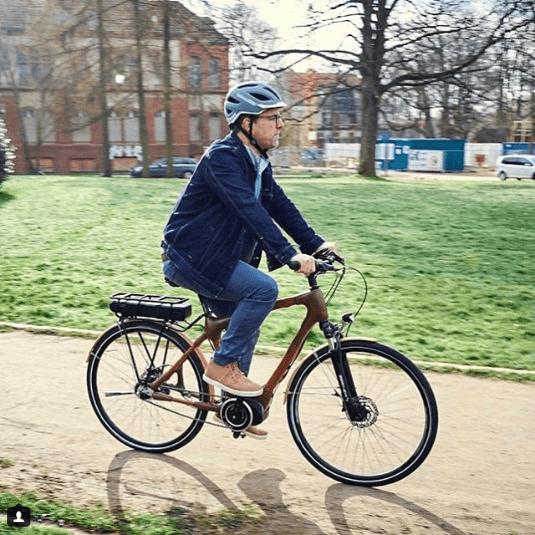 Najdziwniejsze rowery z bambusa w mieście
