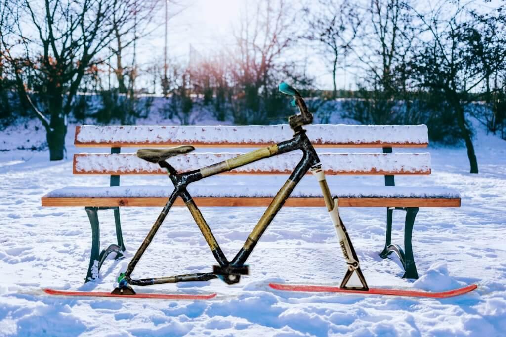 alternatywa dla roweru zimą skibike