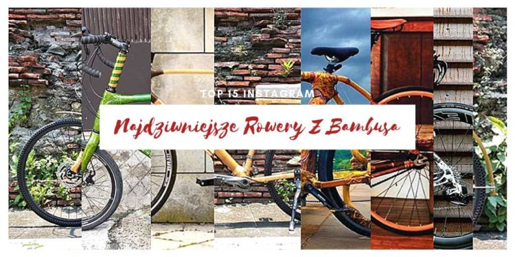 Najdziwniejsze rowery z bambusa wyróżniający