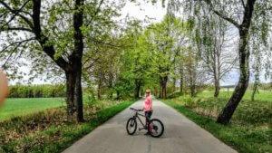 Z rowerem na Mazury jazda na rowerze z bambusa3