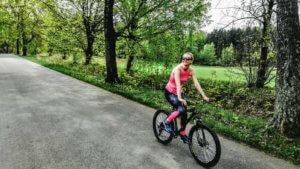 Z rowerem na Mazury jazda na rowerze z bambusa1