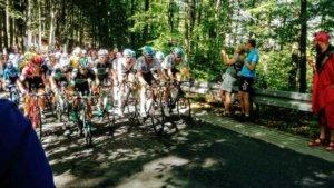 podjazdy szosowe w beskidach tour de pologne zameczek