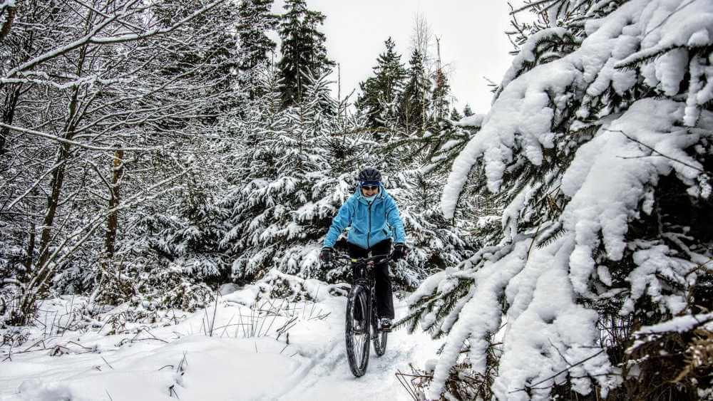 alternatywa dla roweru zimą rowerem