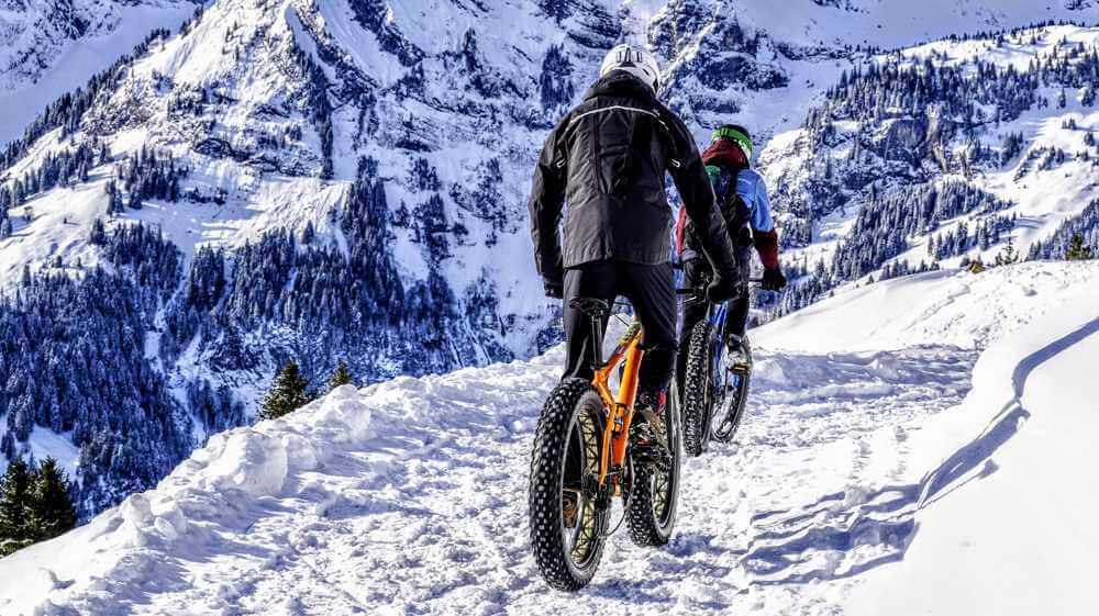 alternatywa dla roweru zimą fat bike